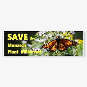 Save the Monarch Bumper Sticker
