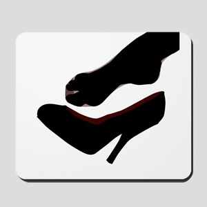 Dropped Shoe Mousepad
