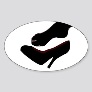 Dropped Shoe Sticker