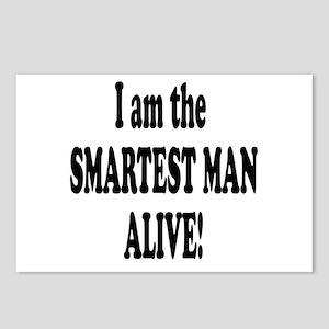 Smartest Man Alive Postcards (Package of 8)