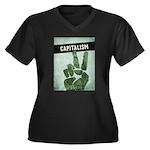 Capitalism Plus Size T-Shirt