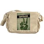 Capitalism Messenger Bag