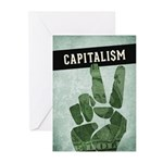 Capitalism Greeting Cards