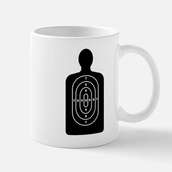 Human Shape Target Mugs