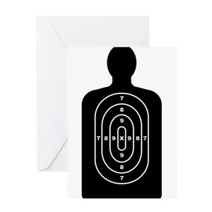 Target shooting greeting cards cafepress m4hsunfo