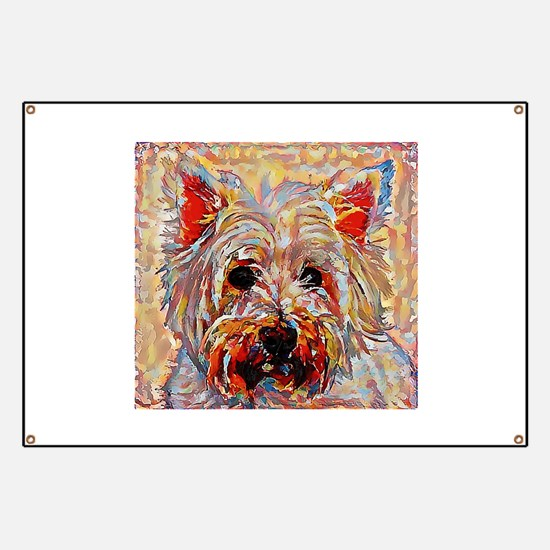 West Highland Terrier: A Portrait in Oil Banner