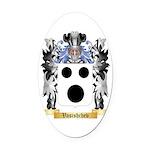 Vasishchev Oval Car Magnet