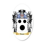 Vasin Oval Car Magnet
