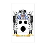 Vasin Sticker (Rectangle 50 pk)