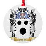 Vasilov Round Ornament