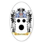 Vasiljevic Sticker (Oval)