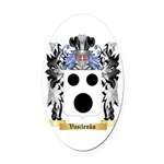 Vasilenko Oval Car Magnet