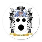 Vasilenko Round Car Magnet