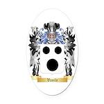 Vasile Oval Car Magnet