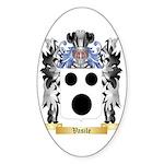Vasile Sticker (Oval 10 pk)