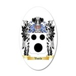 Vasile 20x12 Oval Wall Decal