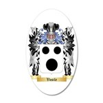 Vasile 35x21 Oval Wall Decal