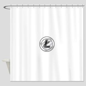Litecoin Shower Curtain