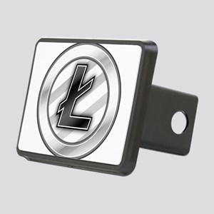 Litecoin Rectangular Hitch Cover