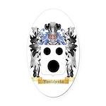 Vasilchenko Oval Car Magnet