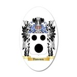 Vasiescu 20x12 Oval Wall Decal