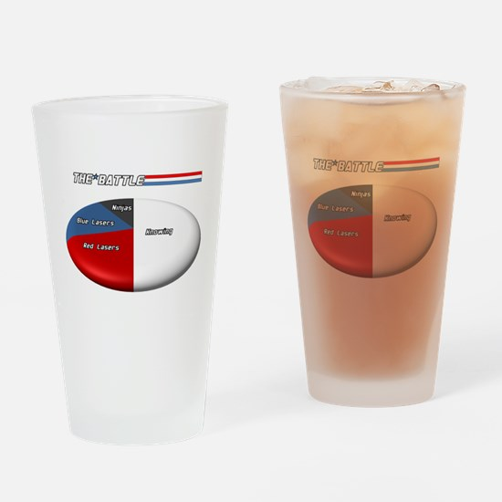 The Battle Drinking Glass