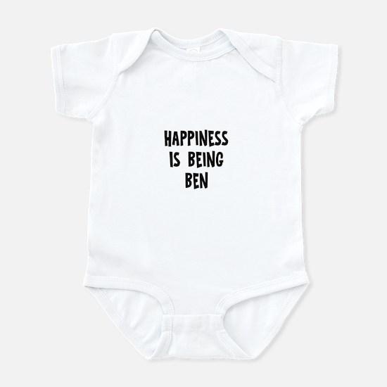 Happiness is being Ben Infant Bodysuit