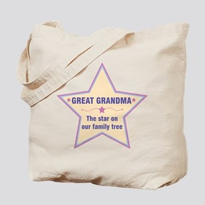 Great Grandma Star Tote Bag