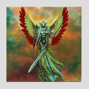 Warrior Angel Tile Coaster