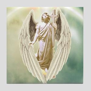 Angel Gabriel Tile Coaster