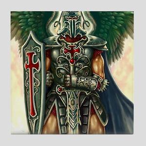 Archangel Uriel Tile Coaster