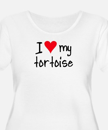 ihearttortoise Plus Size T-Shirt
