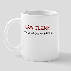 Law Clerk Mug
