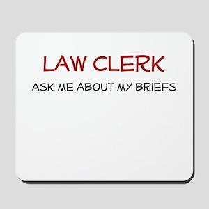 Law Clerk Mousepad