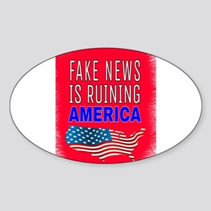 Fake News Is Ruining America Sticker