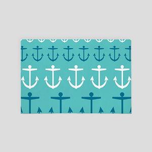 Anchor Pattern 4' x 6' Rug
