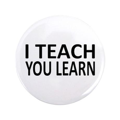"""Teach-Learn 3.5"""" Button (100 pack)"""
