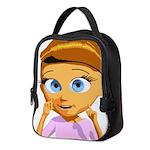 Girl Neoprene Lunch Bag