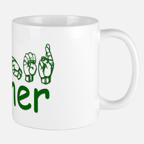 Heather-green Mug