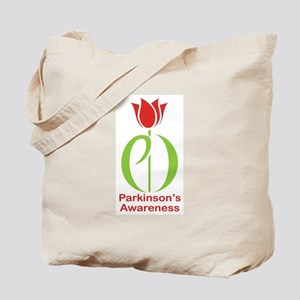 Parkinson's Disease Tulip Tote Bag