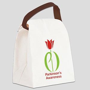 Parkinson's Disease Tulip Canvas Lunch Bag
