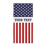 Personalize Flag Beach Towel