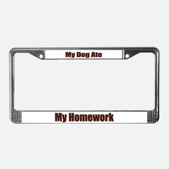 Unique Pet sitter License Plate Frame