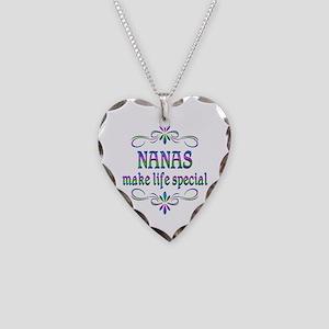 Nanas Make Life Special Necklace Heart Charm
