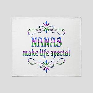 Nanas Make Life Special Throw Blanket