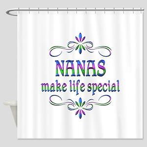 Nanas Make Life Special Shower Curtain