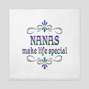 Nanas Make Life Special Queen Duvet