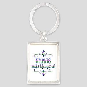Nanas Make Life Special Portrait Keychain