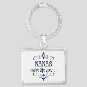 Nanas Make Life Special Landscape Keychain