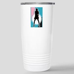 Grunge Girl Performer Stainless Steel Travel Mug